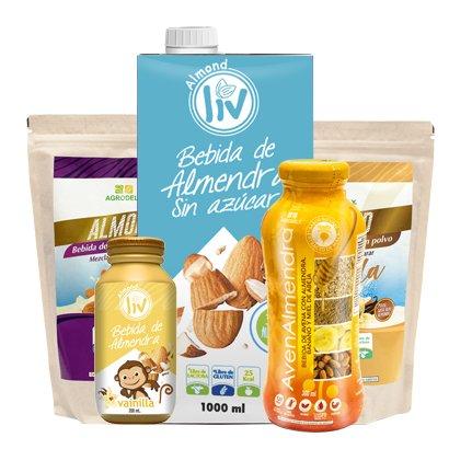 Bebidas plant based libres de lactosa