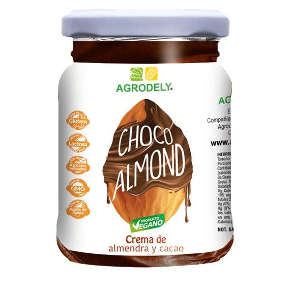 Crema de almendra con cacao