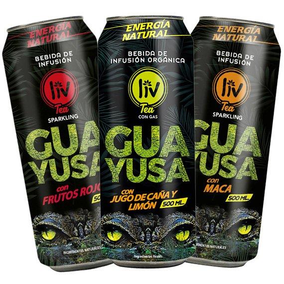 Bebidas Orgánicas de Guayusa