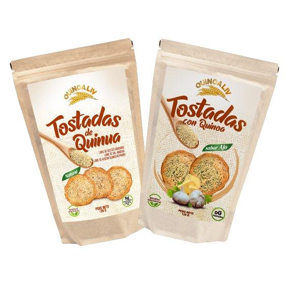Tostadas de Quinoa